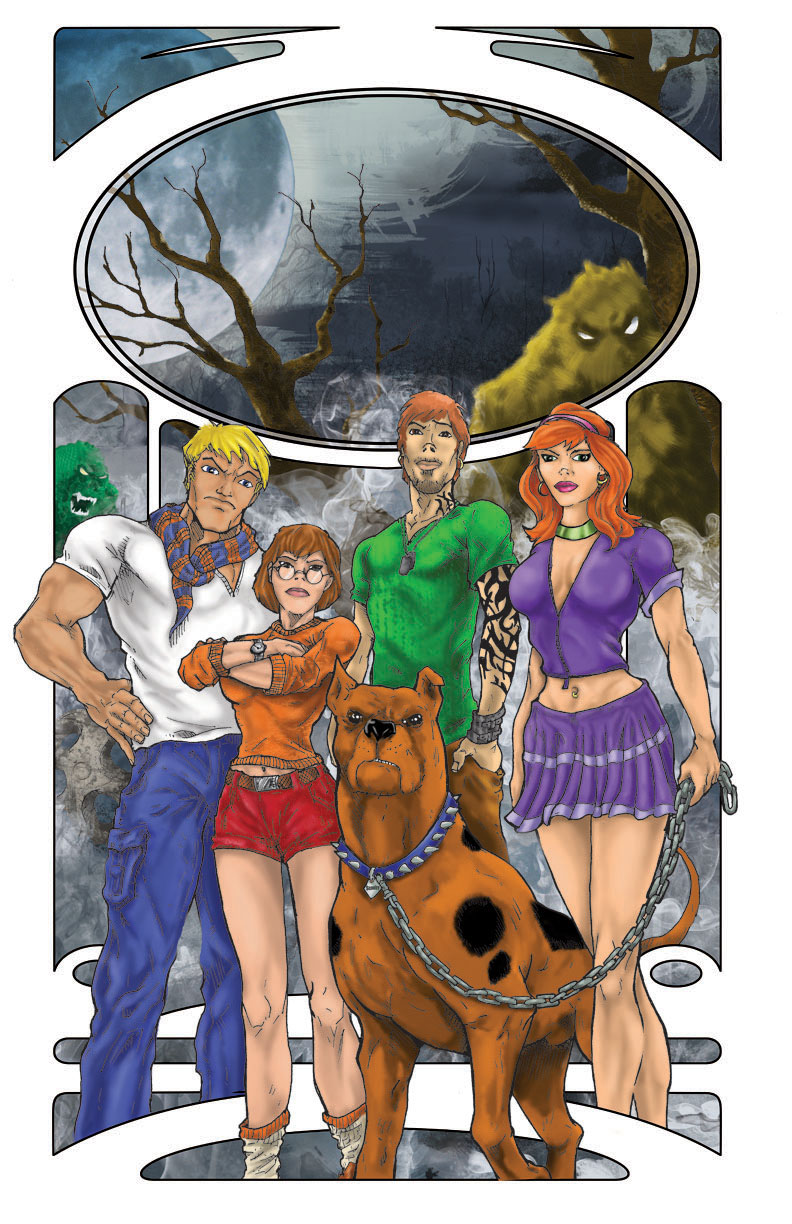 Scooby Gang by DKHindelang