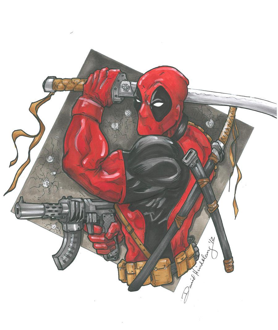 Deadpool by DKHindelang