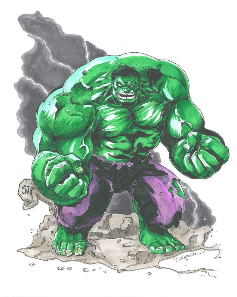 The Incredible Hulk by DKHindelang