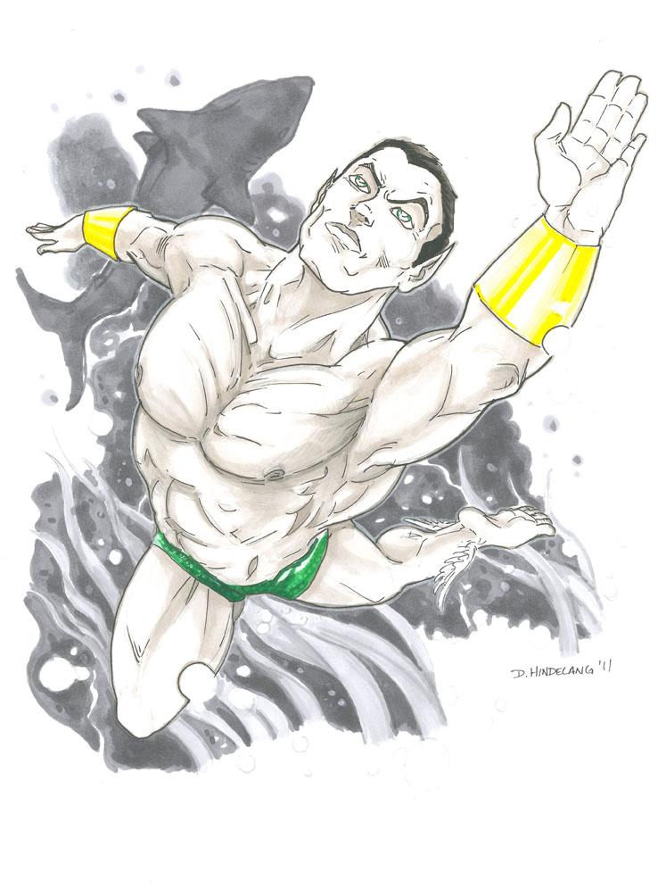 Namor the Submariner by DKHindelang