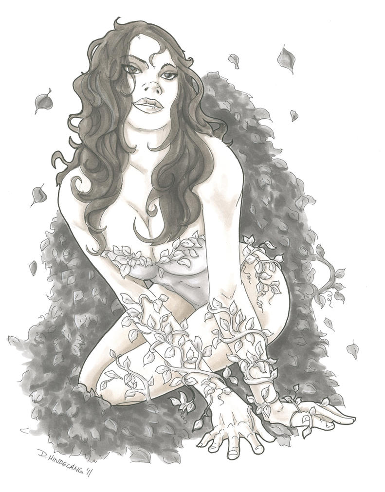 Poison Ivy by DKHindelang
