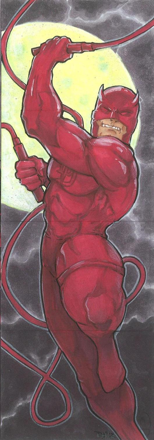 Marvel Premier card - Daredevil (front) by DKHindelang