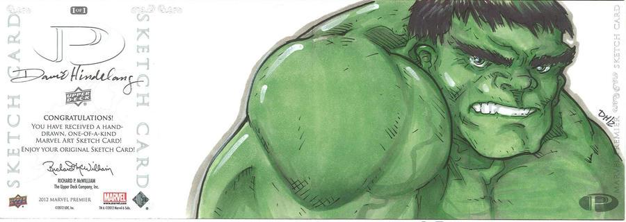 Marvel Premier Card - Hulk (back) by DKHindelang