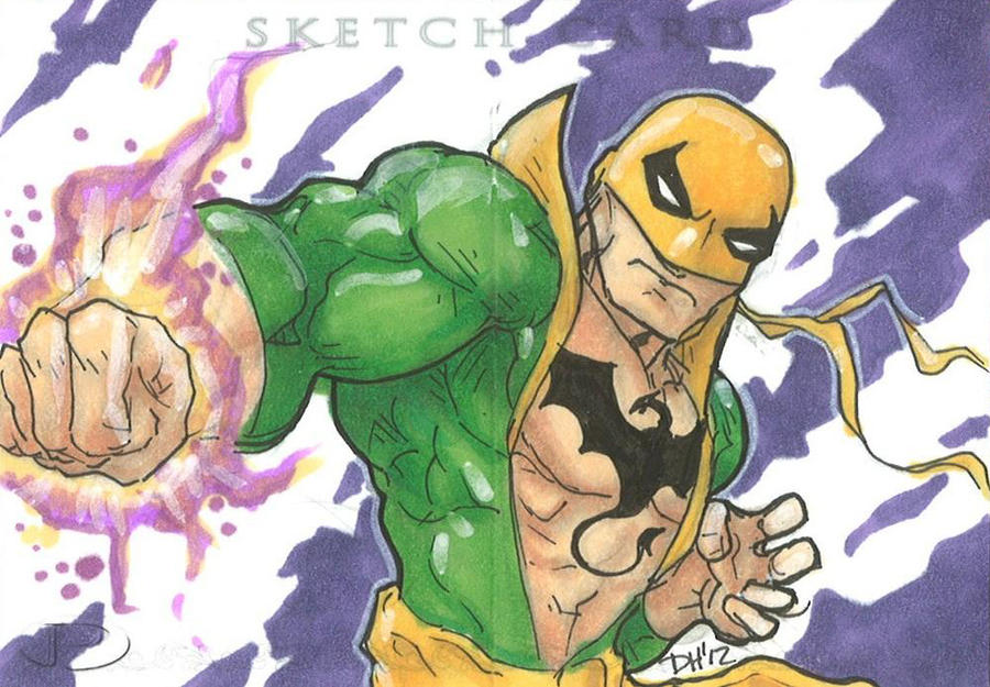 Marvel Premier Card - Iron Fist (front) by DKHindelang