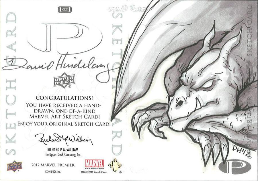 Marvel Premier Card - Lockheed (back) by DKHindelang