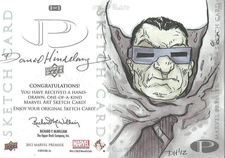 Marvel Premier Card - Mole Man (back) by DKHindelang