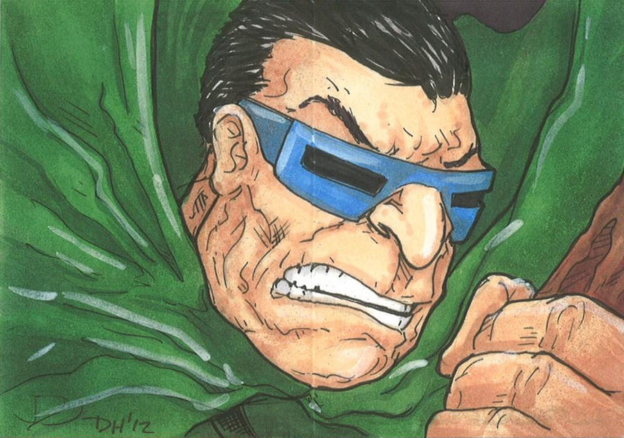 Marvel Premier Card - Mole man (front) by DKHindelang
