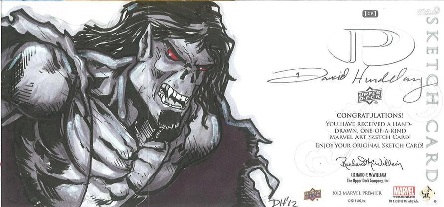 Marvel Premier Card - Morbius the Vampire (back) by DKHindelang