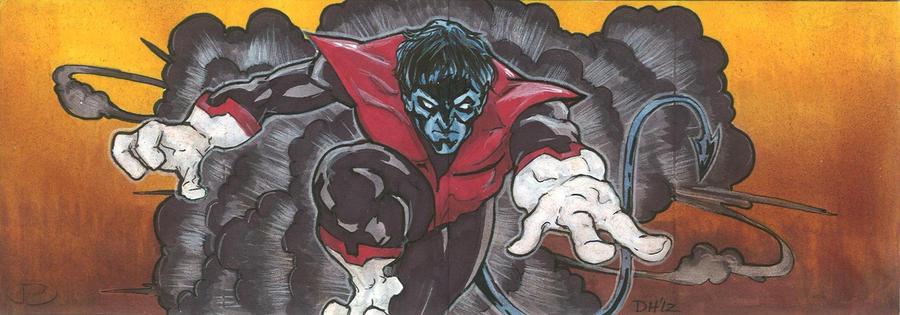 Marvel Premier Card - Nightcrawler (front) by DKHindelang