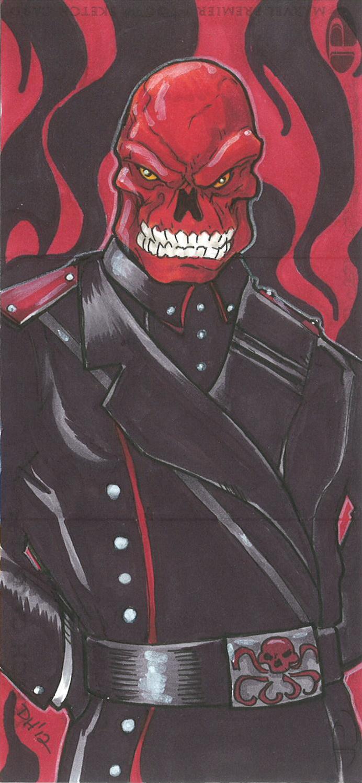 Marvel Premier Card - Red Skull (front) by DKHindelang