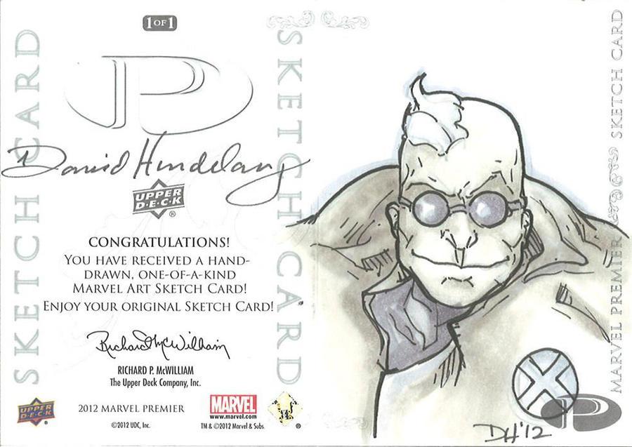 Marvel Premier Card - Strong Guy (back) by DKHindelang