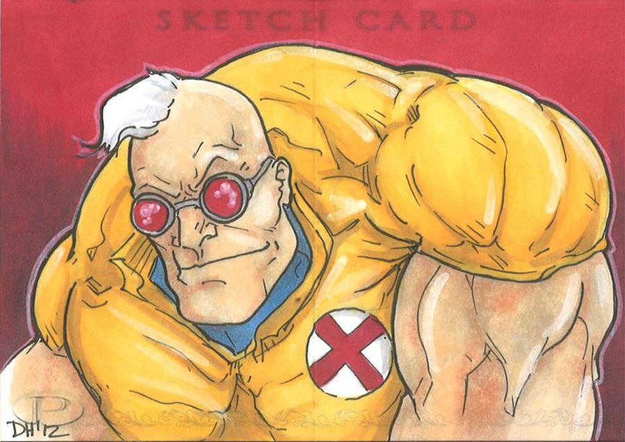 Marvel Premier Card - Strong Guy (front) by DKHindelang
