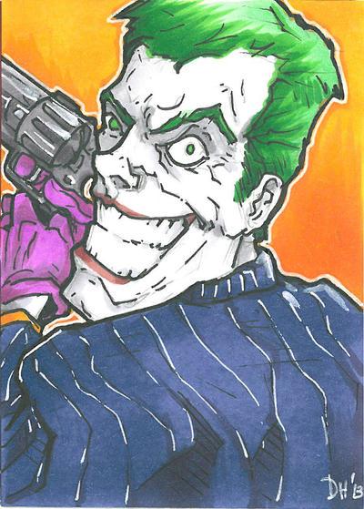 Joker Card by DKHindelang