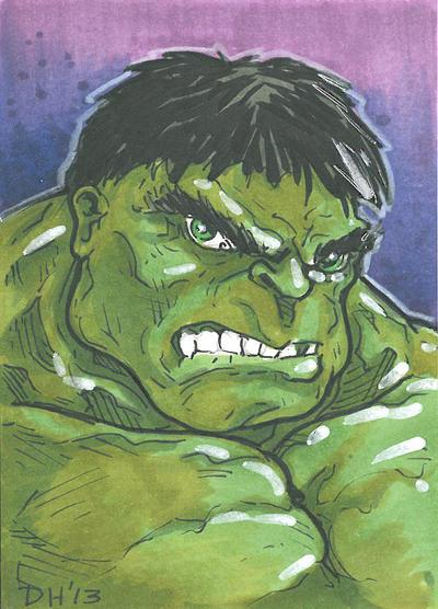 Hulk Card by DKHindelang