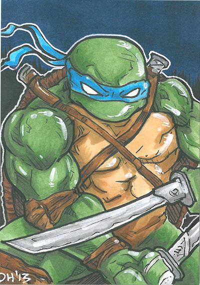 Leonardo card by DKHindelang