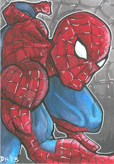Spiderman Card by DKHindelang