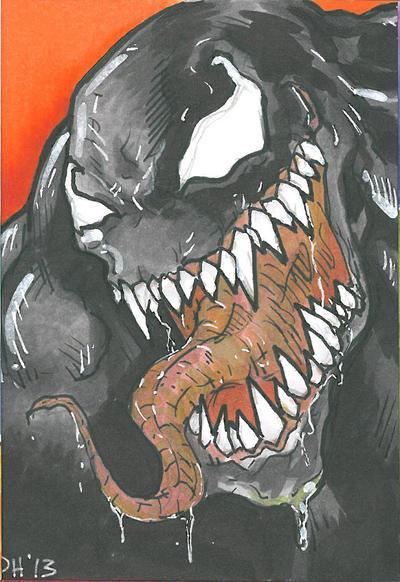 Venom Card by DKHindelang