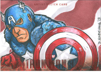 Captain America by DKHindelang