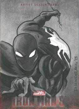 Spider Man - Black by DKHindelang
