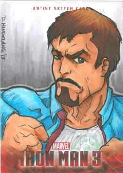 Tony Stark by DKHindelang