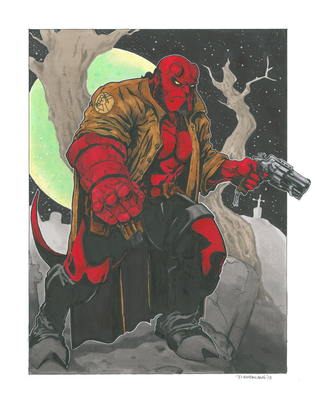 Hellboy 2013 by DKHindelang