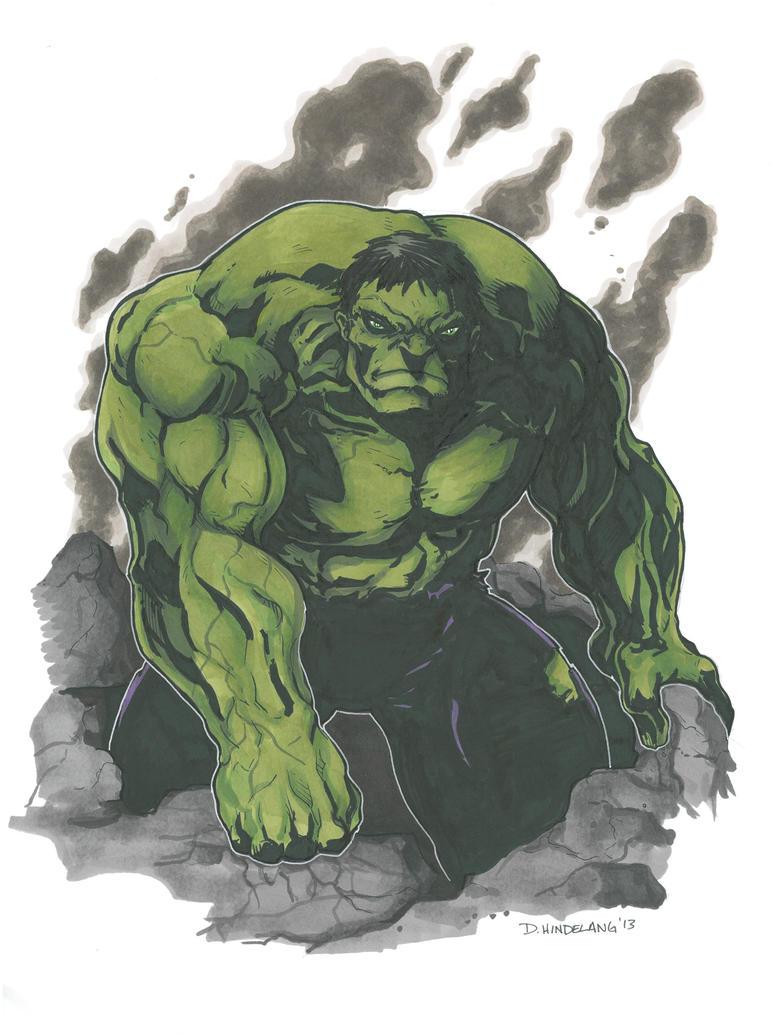 Hulk 2013 by DKHindelang
