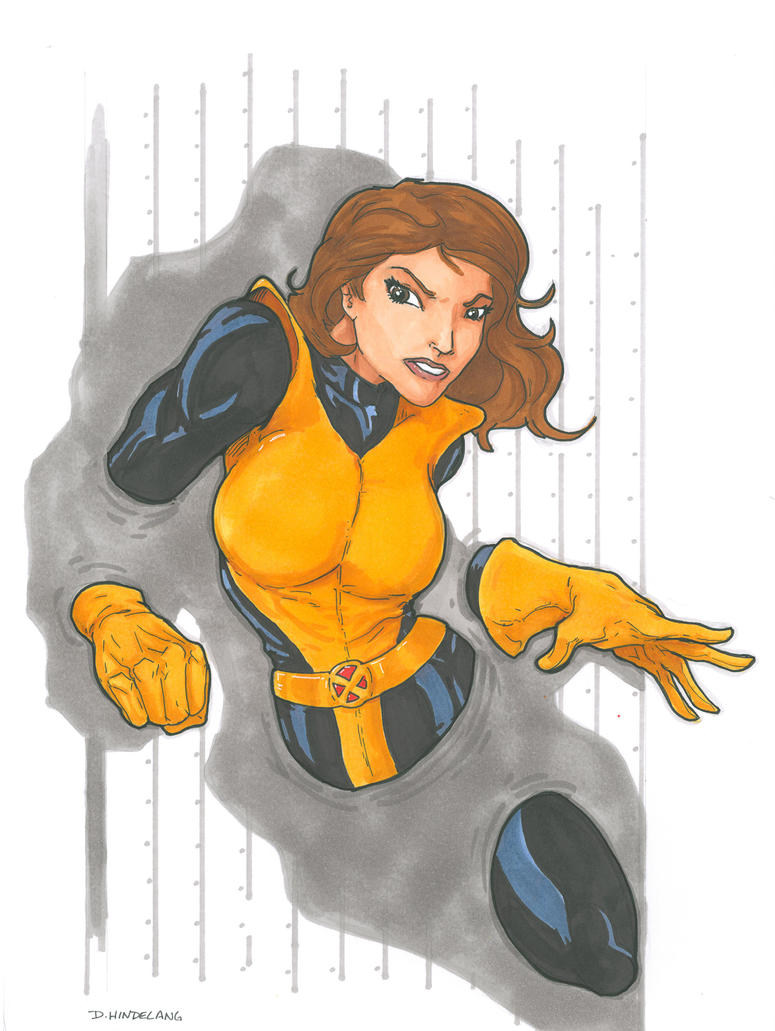 Kitty Pryde by DKHindelang