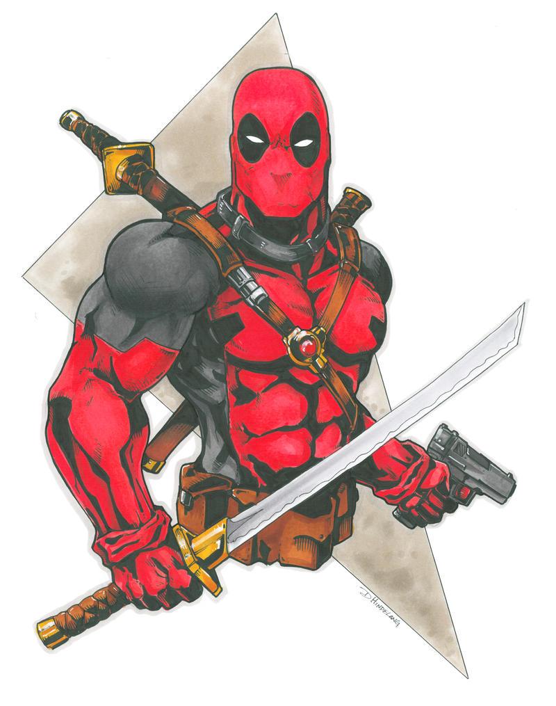 Deadpool Commission by DKHindelang