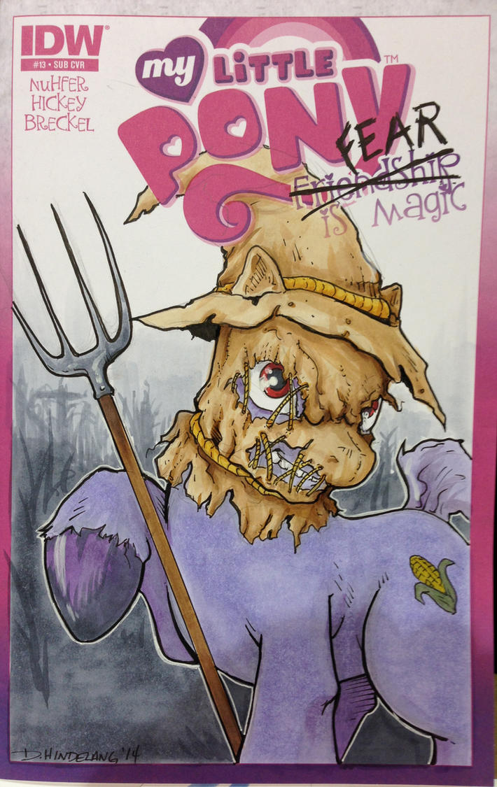 My Little Pony Scarecrow WW-RVA by DKHindelang