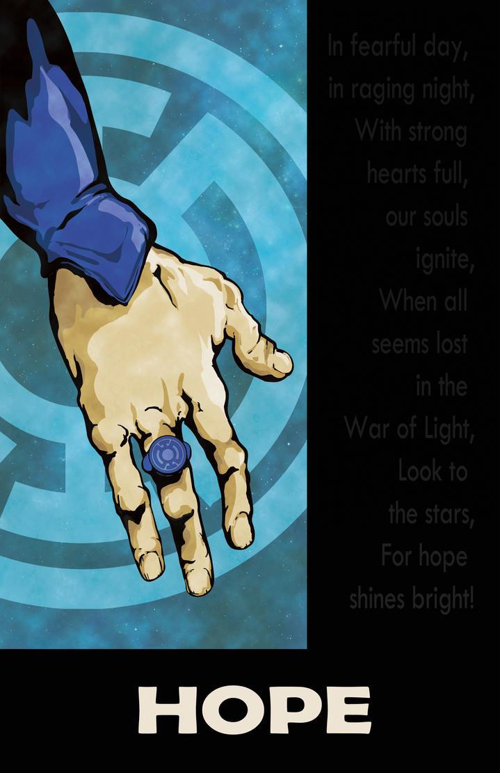 Blue Lantern Hope by DKHindelang