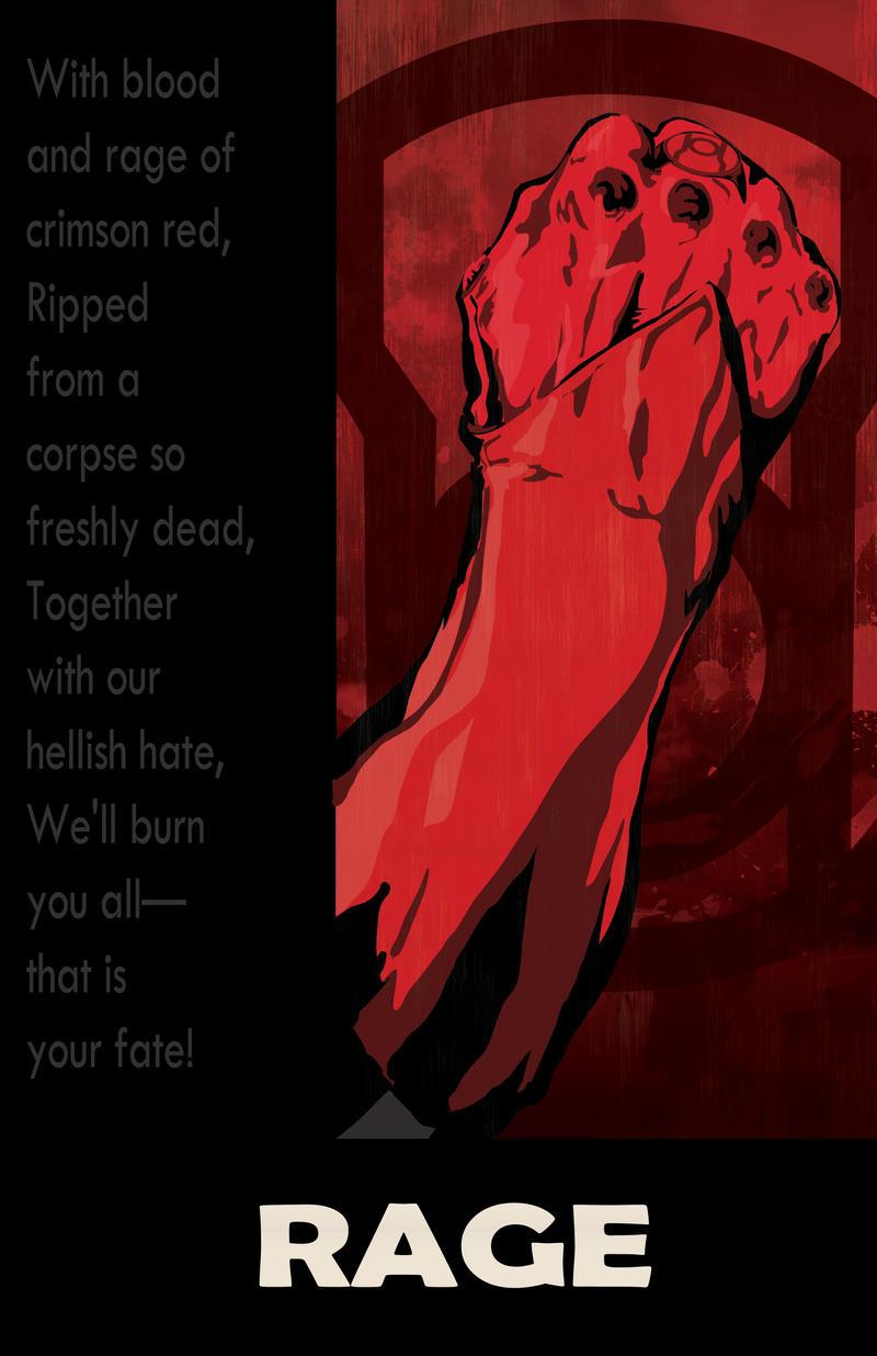 Red Lantern Rage by DKHindelang