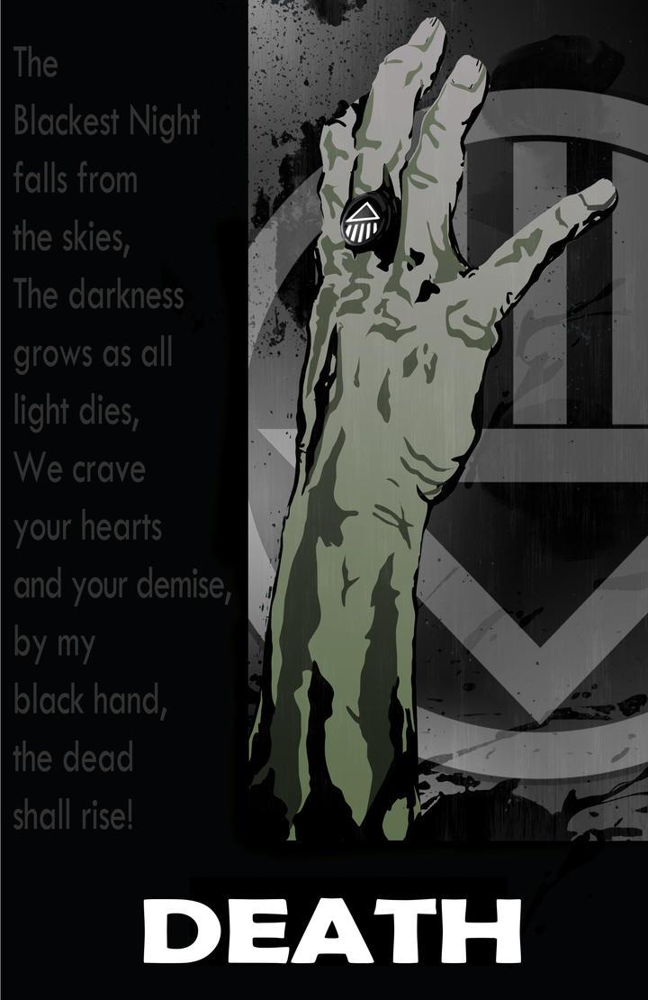Black Lantern Death by DKHindelang