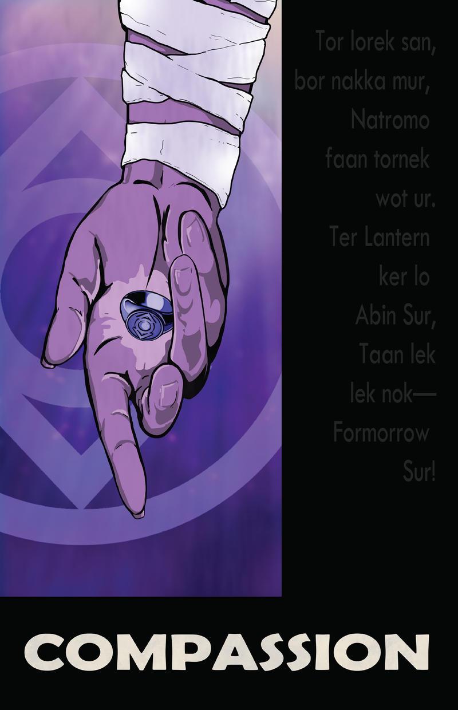 Indigo Lantern Compassion by DKHindelang