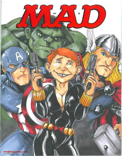 MadMag Avengers by DKHindelang
