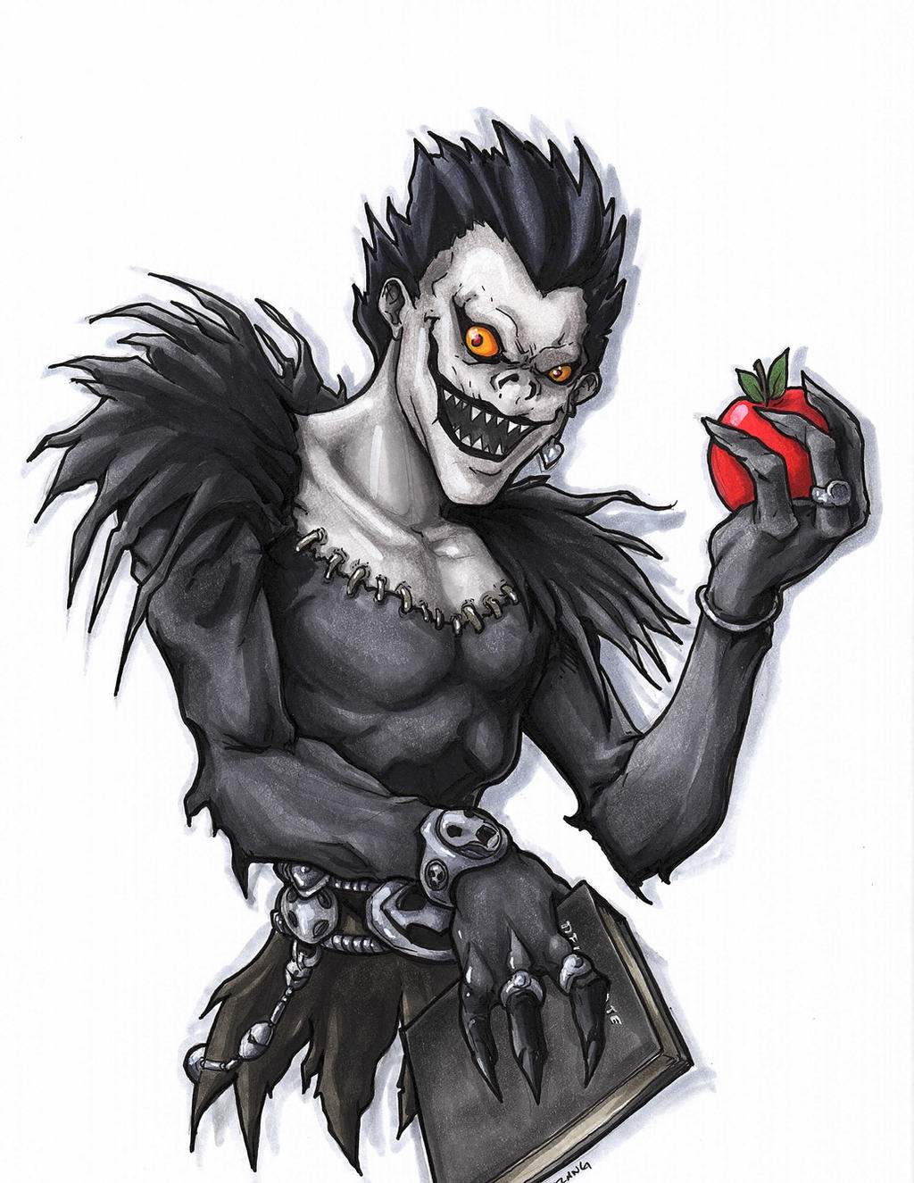 Death Note Ryuk by DKHindelang