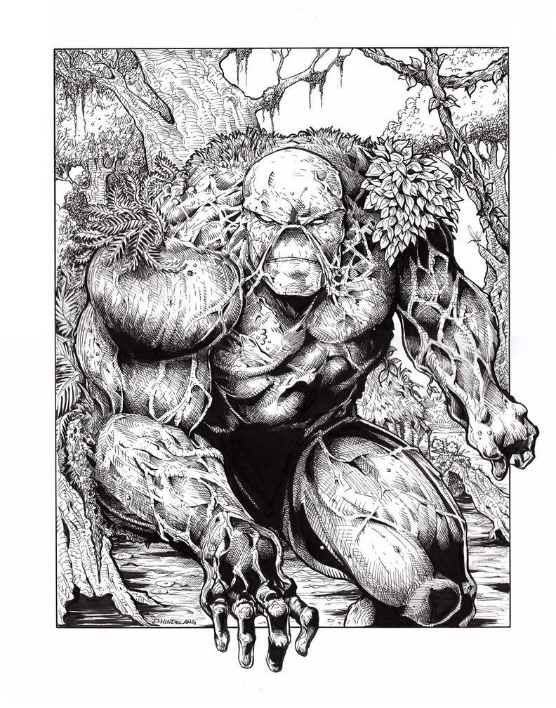Swamp Thing by DKHindelang