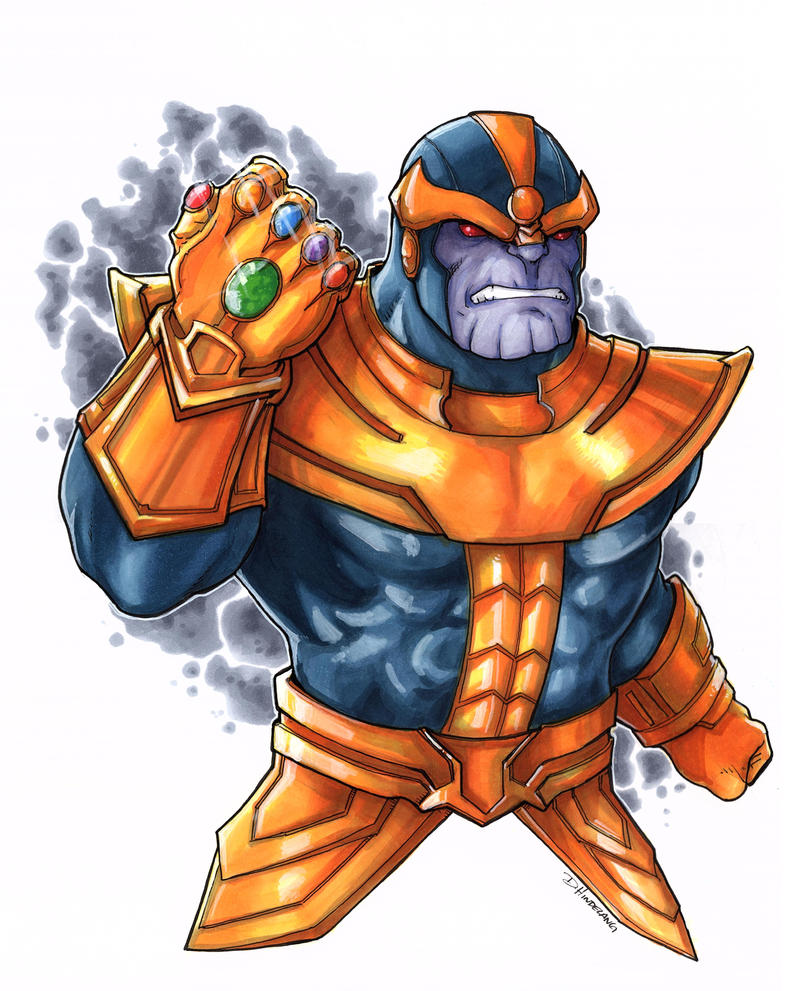 Thanos by DKHindelang