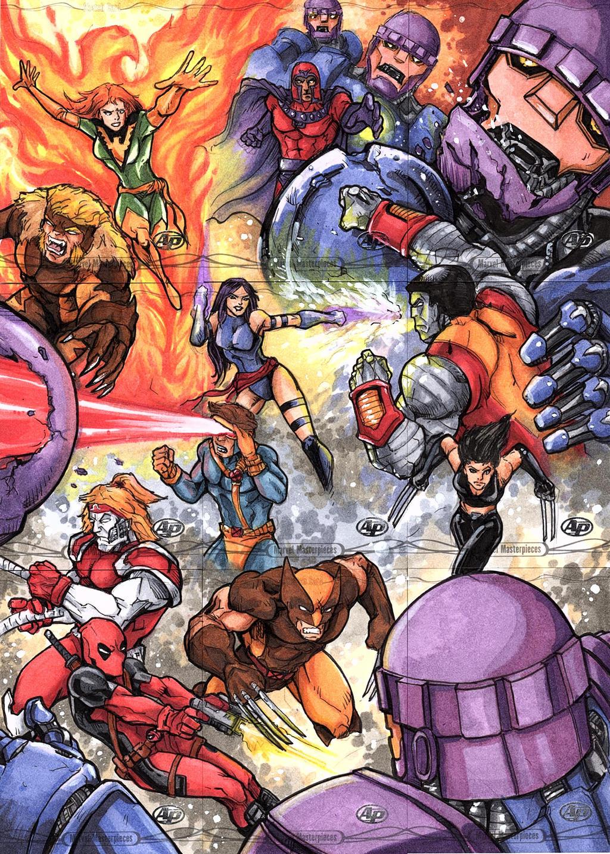 X-men Card Set by DKHindelang