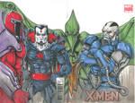 X-Men 4 Villain Sketchcover