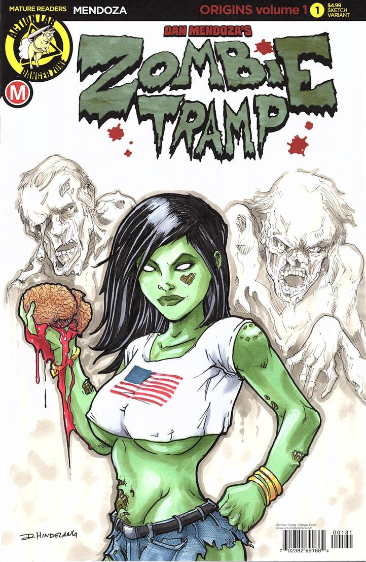 Zombie Tramp by DKHindelang