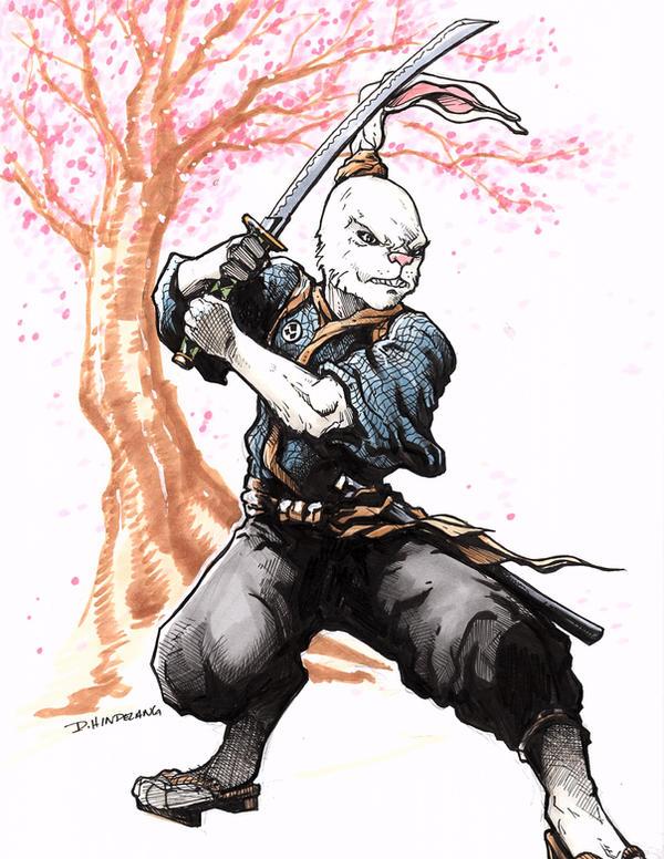 Usagi Yojimbo by DKHindelang