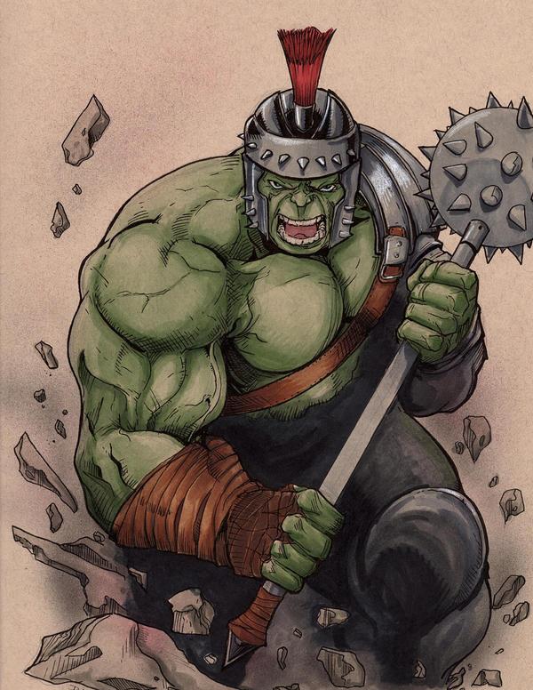 Gladiator Hulk by DKHindelang