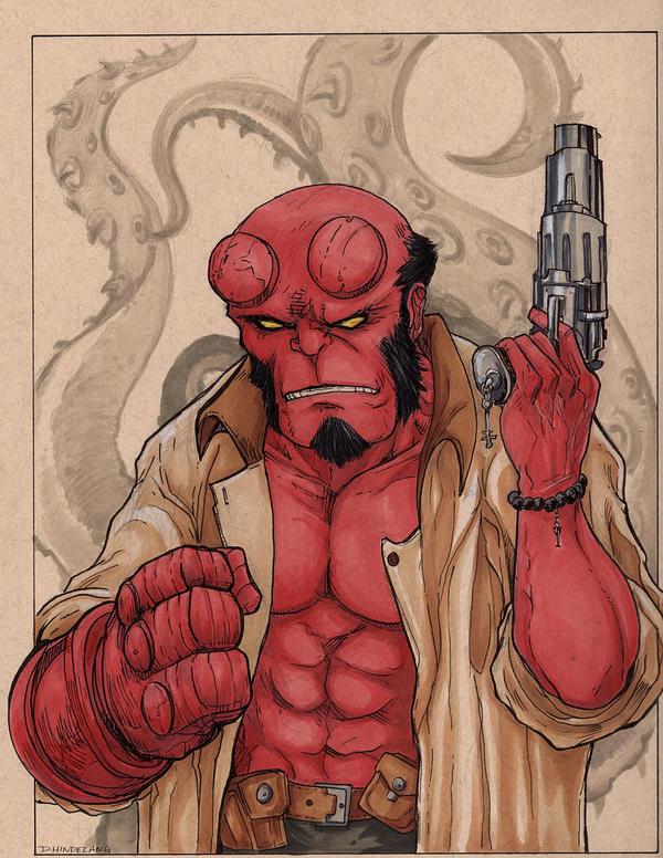 Hellboy by DKHindelang