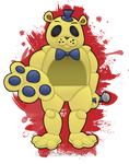 Golden Freddy by KodiKat