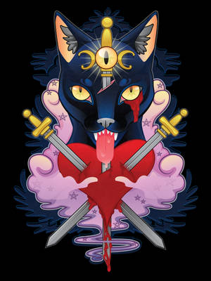 Cat of Swords by KodiKat