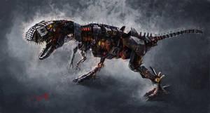 t-rex by 2497710