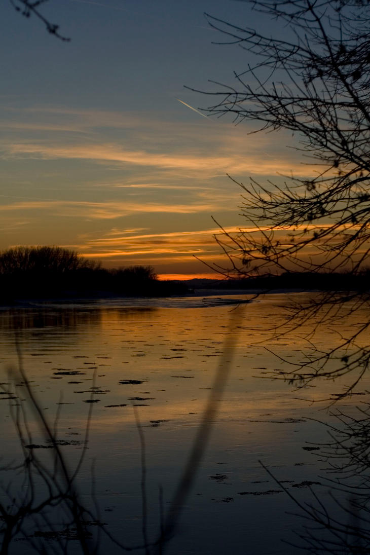 River Sunset 8654 by historyfend13