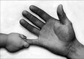 A Newborn's Touch by Bavenmark