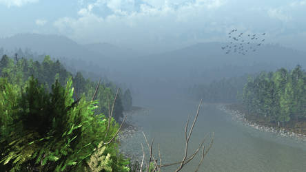 The Misty River