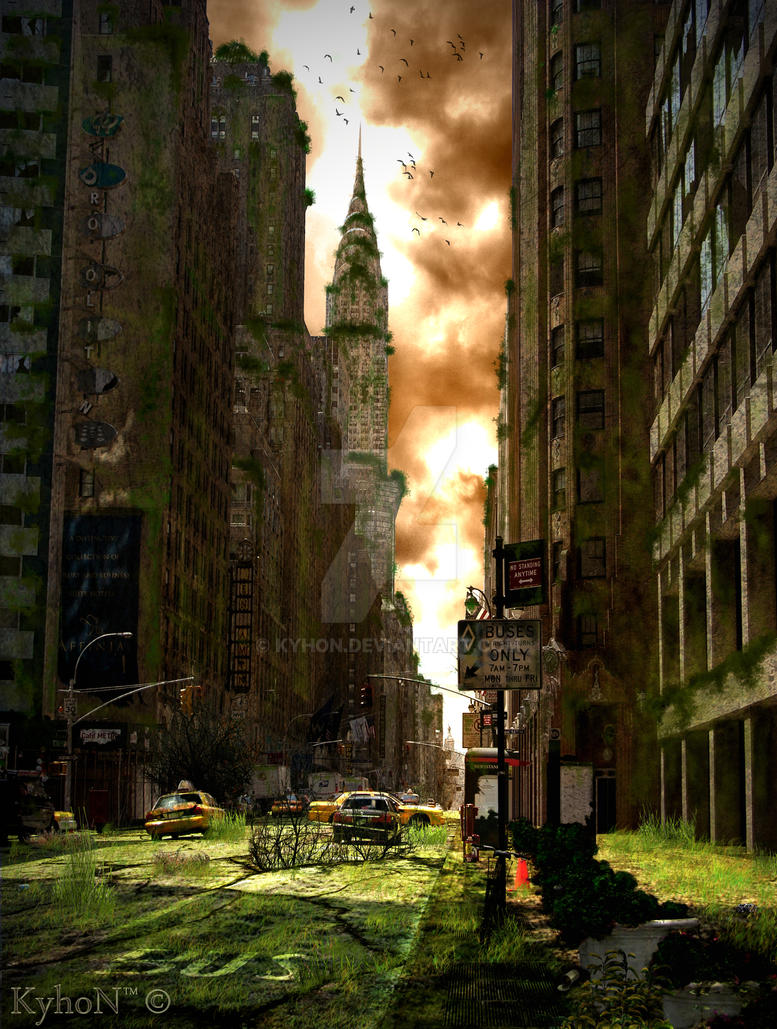 New York City Tomorrow By Kyhon On DeviantArt